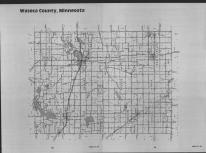 Index Map, Waseca County 1989